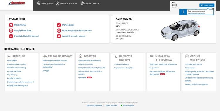 Access Autodata Workshop Application