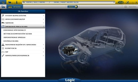Tester Magneti Marelli Logic(Without Licence)
