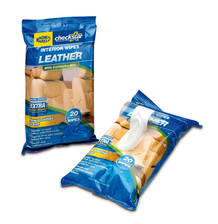 Wet Wipes - Leather